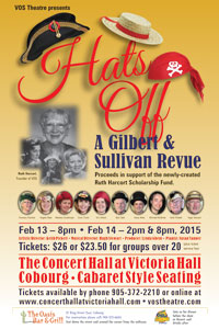Hats Off - A G&S Revue