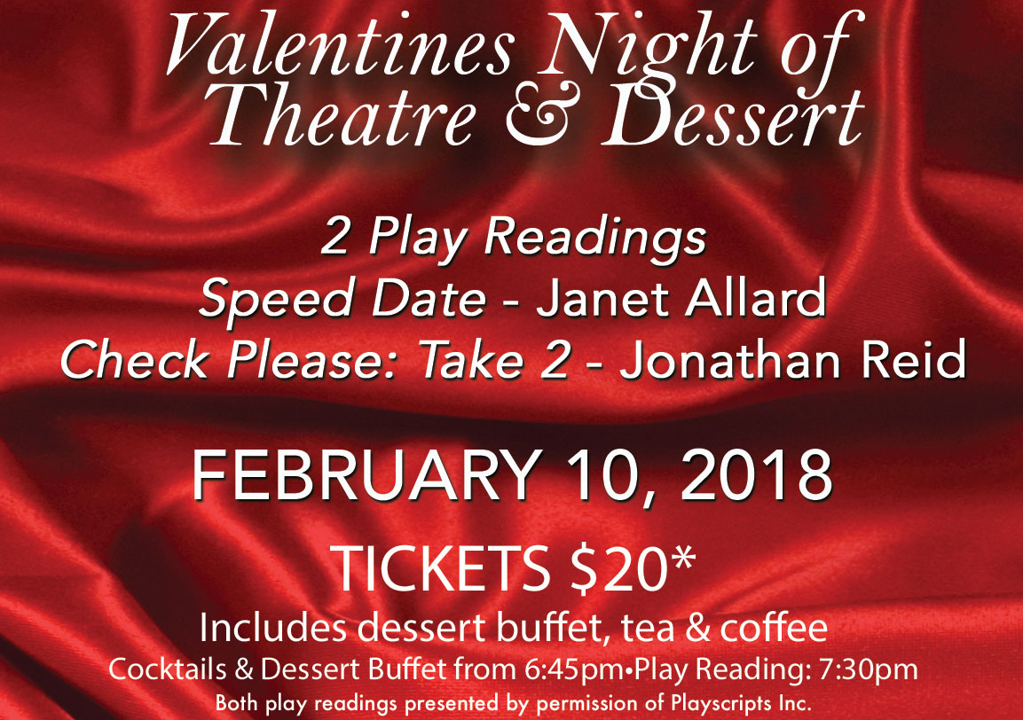 A Valentines Play Reading Double Bill